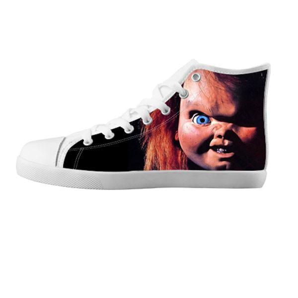 Chucky Shoes & Sneakers - Custom Chucky Canvas Shoes - TeeAmazing - 5