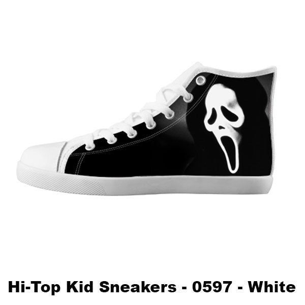 Ghostface Shoes & Sneakers - Custom Scream Canvas Shoes - TeeAmazing - 5