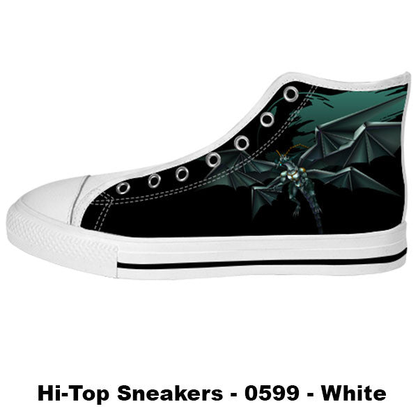 Bahamut Shoes & Sneakers - Custom Final Fantasy Canvas Shoes - TeeAmazing - 2