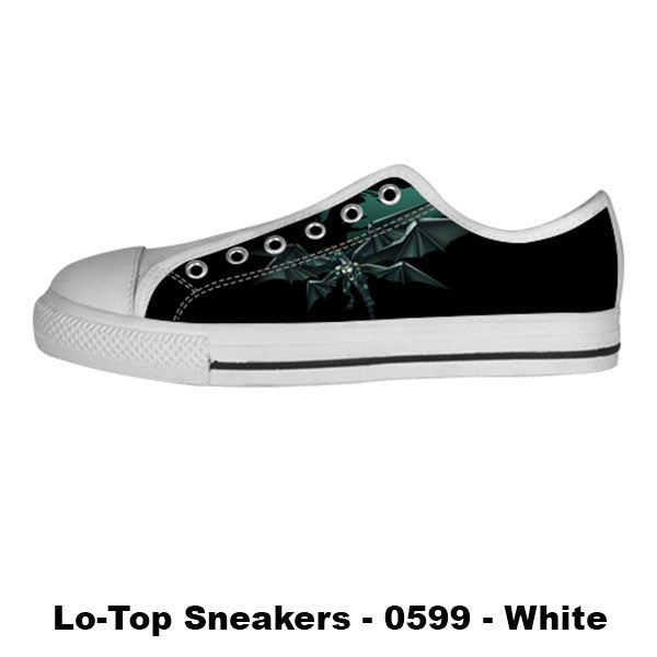 Bahamut Shoes & Sneakers - Custom Final Fantasy Canvas Shoes - TeeAmazing - 4