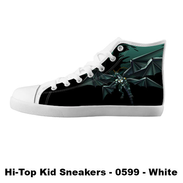 Bahamut Shoes & Sneakers - Custom Final Fantasy Canvas Shoes - TeeAmazing - 5