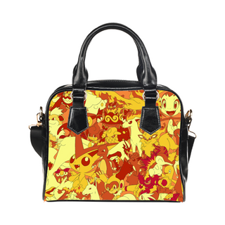 Fire Type Purse & Handbags - Pokemon Bags - TeeAmazing