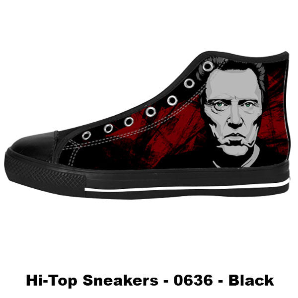 Christopher Walken Shoes & Sneakers - Custom Christopher Walken Canvas Shoes - TeeAmazing