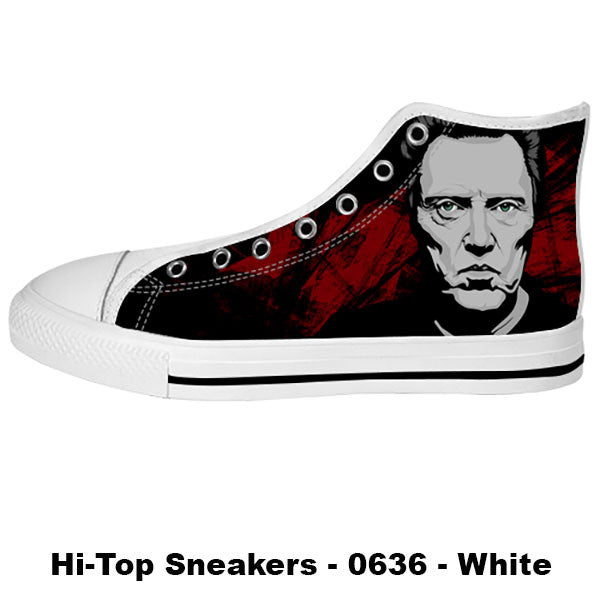 Christopher Walken Shoes & Sneakers - Custom Christopher Walken Canvas Shoes - TeeAmazing - 2