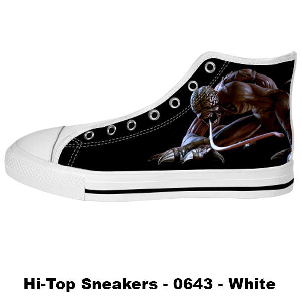 Licker Shoes & Sneakers - Custom Resident Evil Canvas Shoes - TeeAmazing - 2