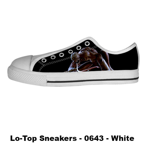 Licker Shoes & Sneakers - Custom Resident Evil Canvas Shoes - TeeAmazing - 4