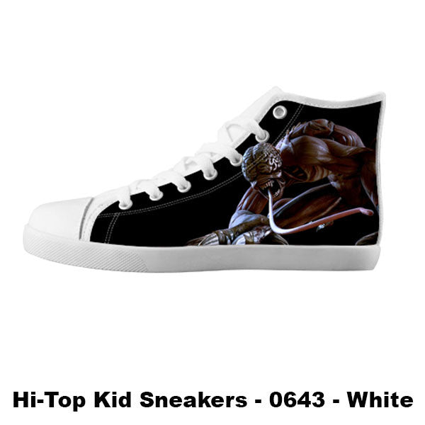 Licker Shoes & Sneakers - Custom Resident Evil Canvas Shoes - TeeAmazing - 5
