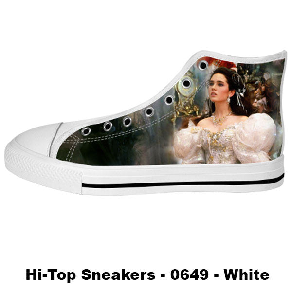 Sarah Williams Shoes & Sneakers - Custom Labyrinth Canvas Shoes - TeeAmazing