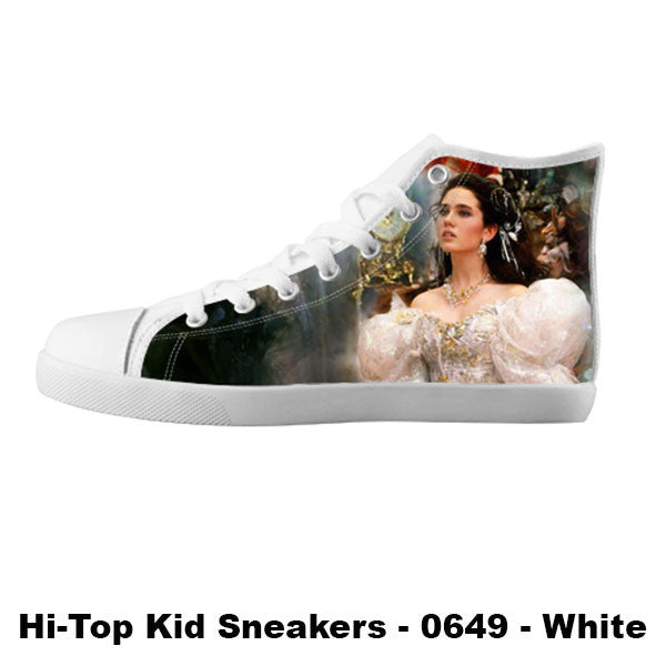 Sarah Williams Shoes & Sneakers - Custom Labyrinth Canvas Shoes - TeeAmazing - 5
