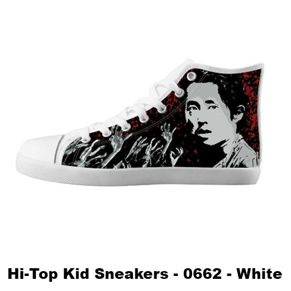 Glen Rhee Shoes & Sneakers - Custom The Walking Dead Canvas Shoes - TeeAmazing
