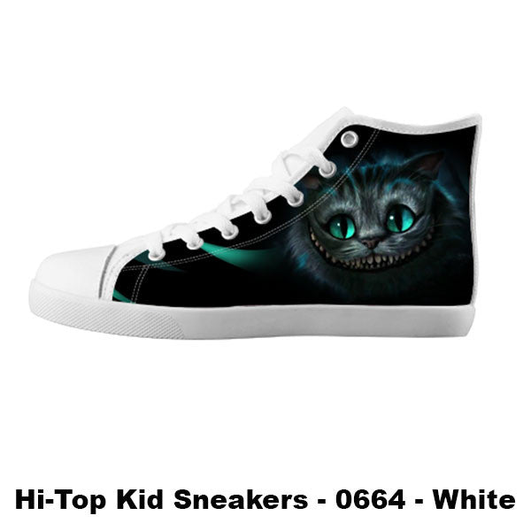 Cheshire Cat Shoes & Sneakers - Custom Alice in Wonderland Canvas Shoes - TeeAmazing - 5