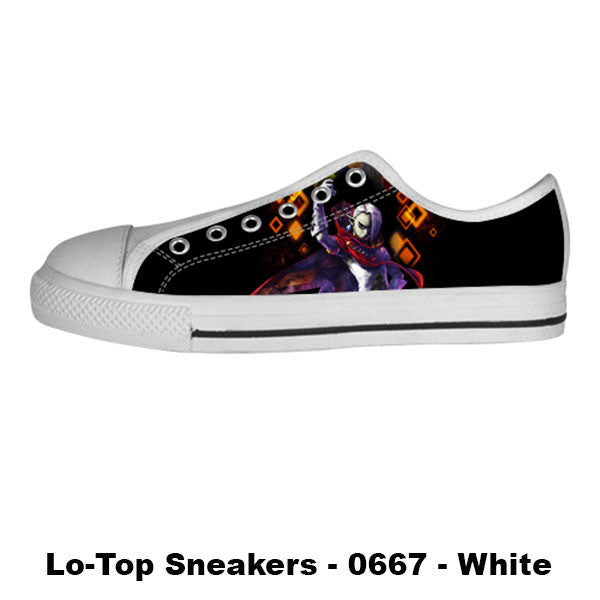 Ghirahim Demon Lord Shoes & Sneakers - Custom Zelda Canvas Shoes - TeeAmazing - 4