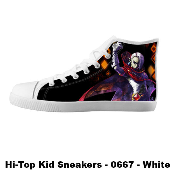 Ghirahim Demon Lord Shoes & Sneakers - Custom Zelda Canvas Shoes - TeeAmazing - 5