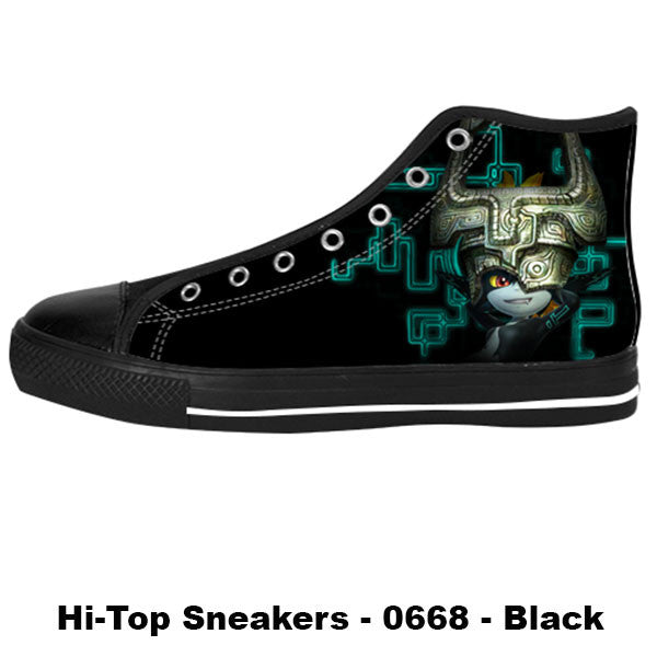 Midna Twilight Princess Shoes & Sneakers - Custom Zelda Canvas Shoes - TeeAmazing - 1