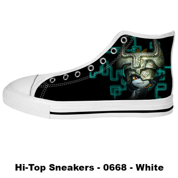 Midna Twilight Princess Shoes & Sneakers - Custom Zelda Canvas Shoes - TeeAmazing - 2