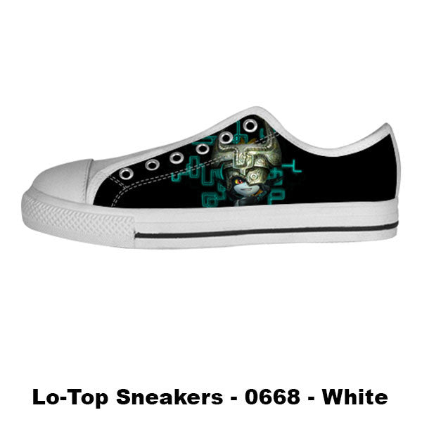 Midna Twilight Princess Shoes & Sneakers - Custom Zelda Canvas Shoes - TeeAmazing - 4