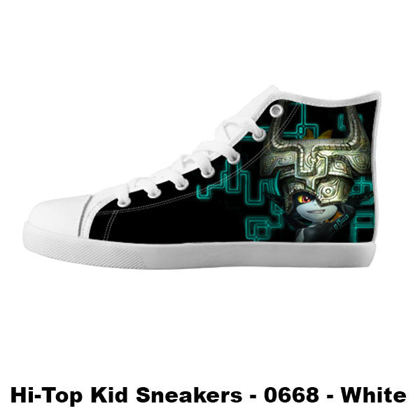 Midna Twilight Princess Shoes & Sneakers - Custom Zelda Canvas Shoes - TeeAmazing - 5