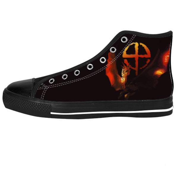 Draco Shoes & Sneakers - Custom Dragonheart Canvas Shoes - TeeAmazing