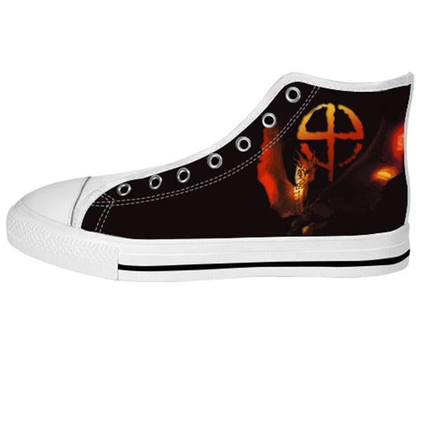 Draco Shoes & Sneakers - Custom Dragonheart Canvas Shoes - TeeAmazing - 2
