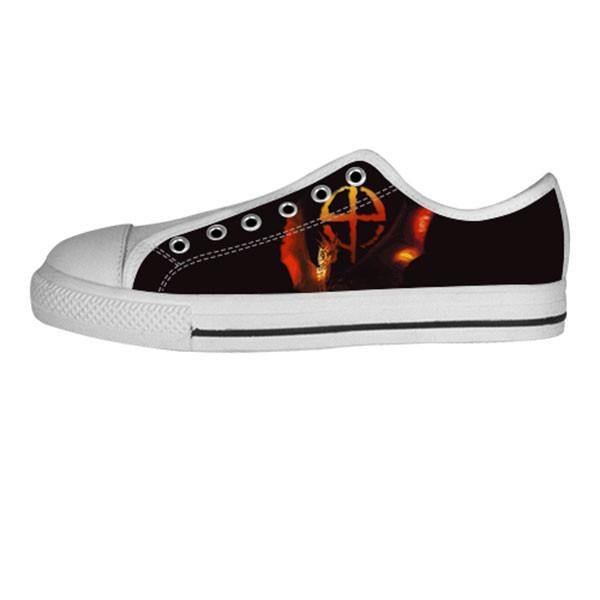 Draco Shoes & Sneakers - Custom Dragonheart Canvas Shoes - TeeAmazing - 4