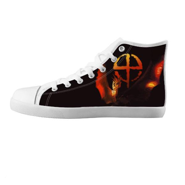 Draco Shoes & Sneakers - Custom Dragonheart Canvas Shoes - TeeAmazing - 5