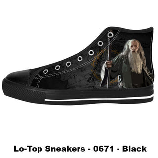 Gandalf Shoes & Sneakers - Custom The Lord of The Rings Canvas Shoes - TeeAmazing