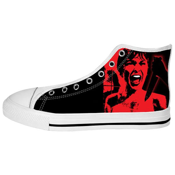 Psycho Shoes & Sneakers - Custom Psycho Canvas Shoes - TeeAmazing - 2