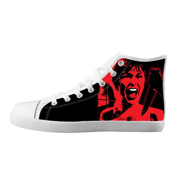 Psycho Shoes & Sneakers - Custom Psycho Canvas Shoes - TeeAmazing - 5