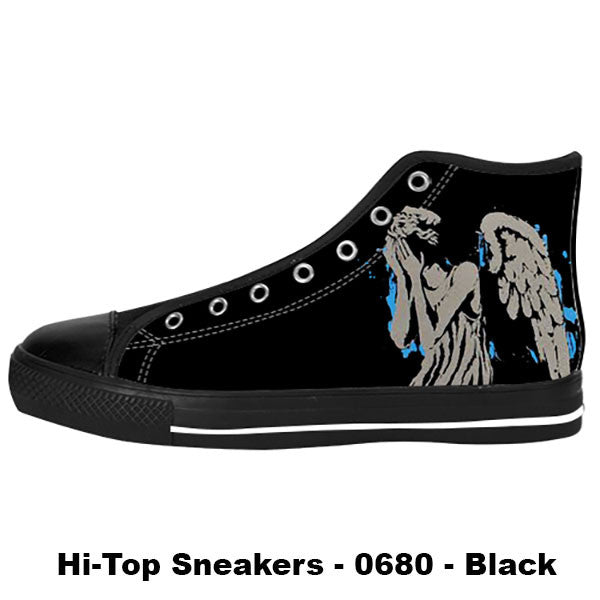 Weeping Angel Shoes & Sneakers - Custom Doctor Who Canvas Shoes U682637-US6