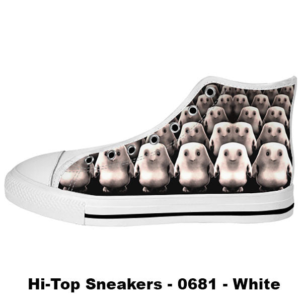 Adipose Shoes & Sneakers - Custom Doctor Who Canvas Shoes - TeeAmazing