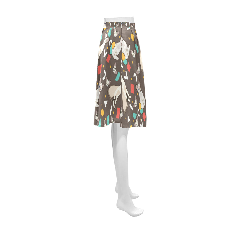 Oriental Shorthair Athena Women's Short Skirt - TeeAmazing
