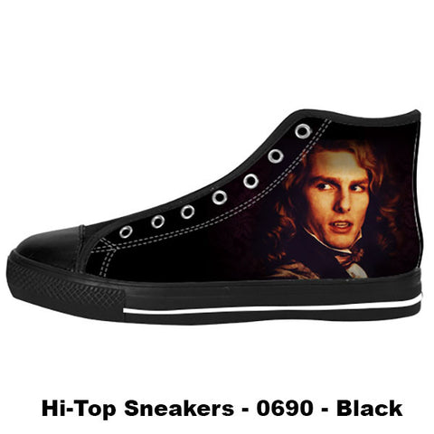 Lestat de Lioncourt Shoes & Sneakers - Custom Interview with the Vampire Canvas Shoes - TeeAmazing