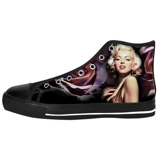 Marilyn Monroe Shoes & Sneakers - Custom Marilyn Monroe Canvas Shoes - TeeAmazing