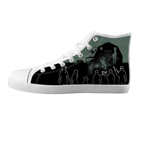 The Walking Dead Shoes & Sneakers - Custom The Walking Dead Canvas Shoes - TeeAmazing