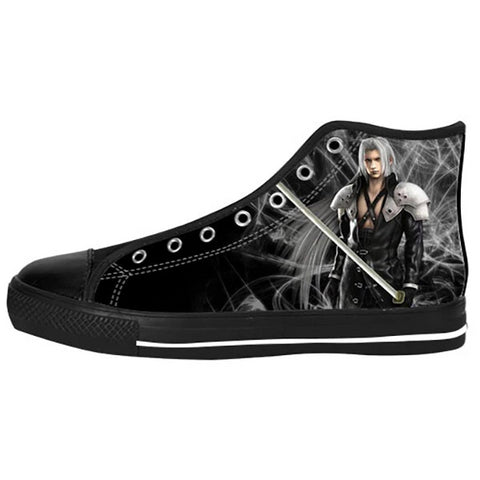 Sephiroth Shoes & Sneakers - Custom Final Fantasy Canvas Shoes - TeeAmazing