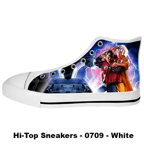 Back to the Future Shoes & Sneakers - Custom Back to the Future Canvas Shoes - TeeAmazing