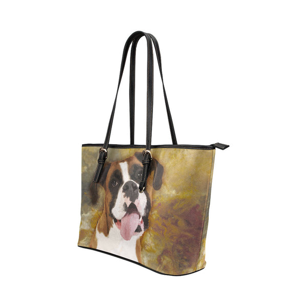 Boxer Leather Tote Bags - Boxer Bags - TeeAmazing - 2