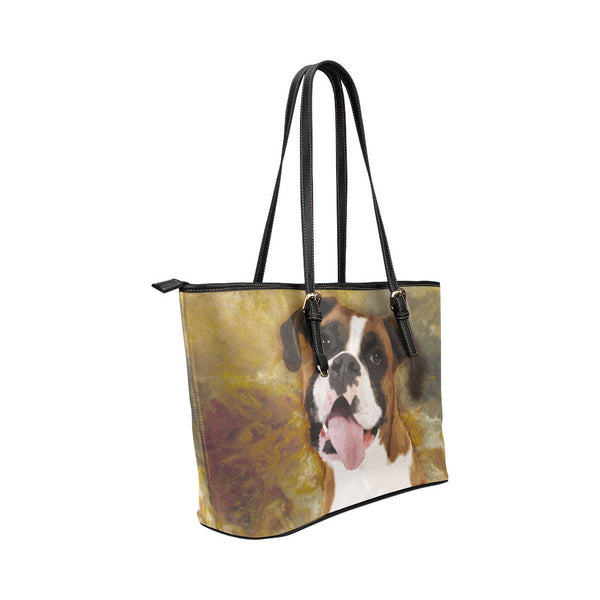 Boxer Leather Tote Bags - Boxer Bags - TeeAmazing - 4