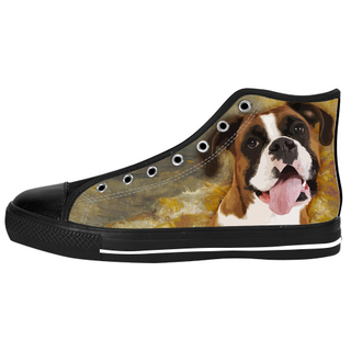 Boxer Shoes & Sneakers - Custom Boxer Canvas Shoes - TeeAmazing