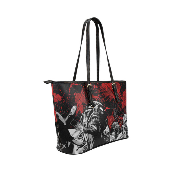 Zombies Leather Tote Bags - The Walking Dead Bags - TeeAmazing - 4