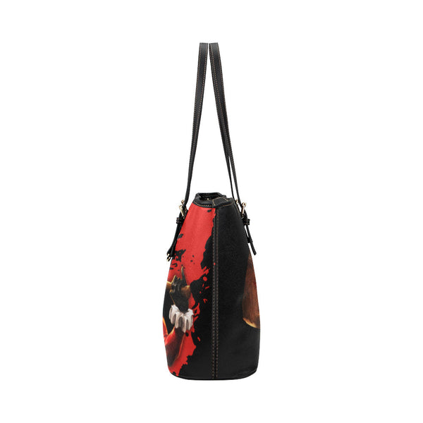 Harley Quinn Leather Tote Bags - Batman Bags - TeeAmazing - 3