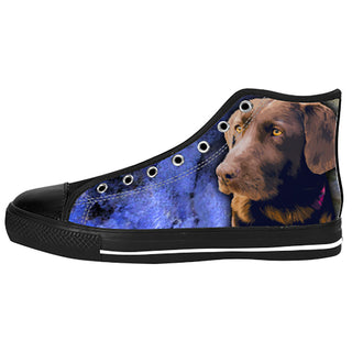 Labrador Retriever Shoes & Sneakers - Custom Labrador Retriever Canvas Shoes - TeeAmazing