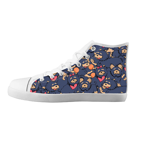 Yorkshire Terrier Shoes & Sneakers - Custom Yorkshire Terrier Canvas Shoes - TeeAmazing - 5