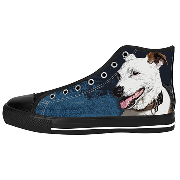 Jack Russell Terrier Shoes & Sneakers - Custom Jack Russell Terrier Canvas Shoes - TeeAmazing - 1