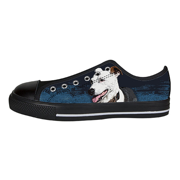 Jack Russell Terrier Shoes & Sneakers - Custom Jack Russell Terrier Canvas Shoes - TeeAmazing - 3