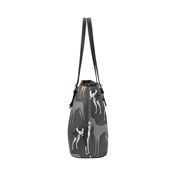 Great Dane Leather Tote Bags - Great Dane Bags - TeeAmazing - 3