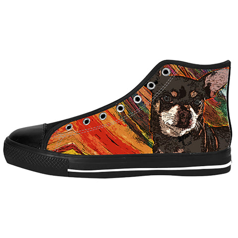 Chihuahua Shoes & Sneakers - Custom Chihuahua Canvas Shoes - TeeAmazing