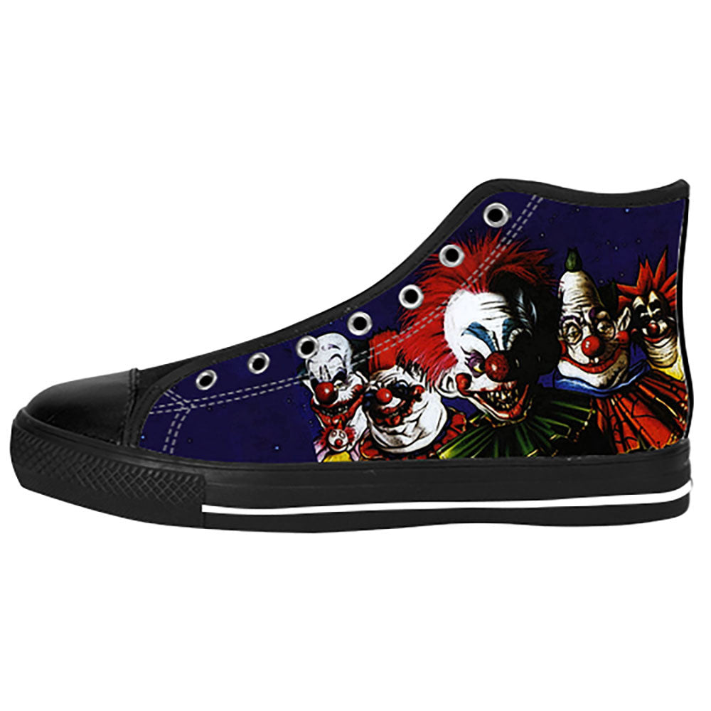 Killer Klowns from Outer Space Shoes & Sneakers - Custom Killer Klowns from Outer Space Canvas Shoes HW1B0796-US6