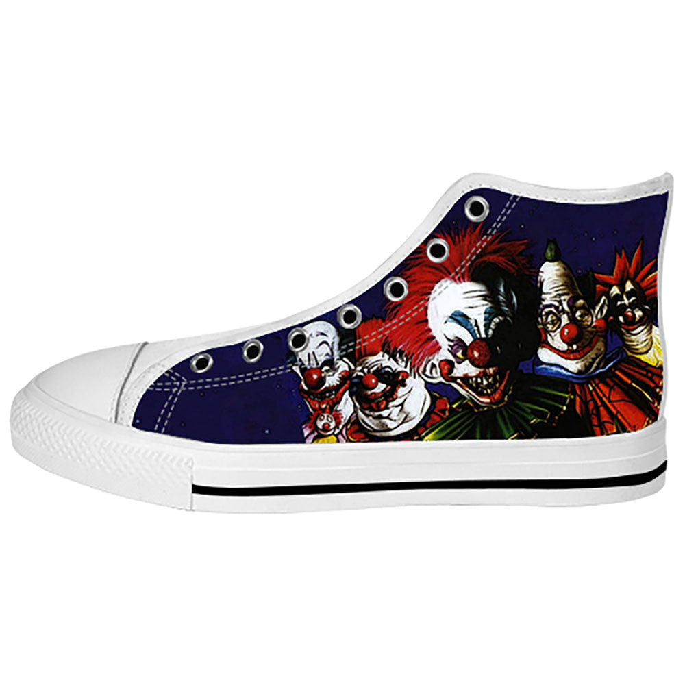 Killer Klowns from Outer Space Shoes & Sneakers - Custom Killer Klowns from Outer Space Canvas Shoes - TeeAmazing