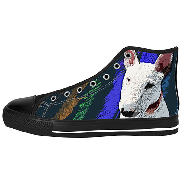 Bull Terrier Shoes & Sneakers - Custom Bull Terrier Canvas Shoes - TeeAmazing - 1